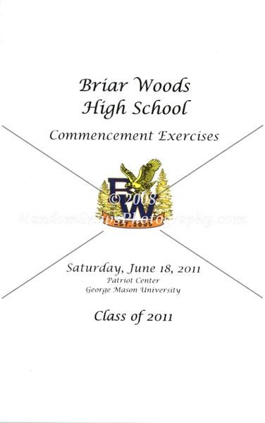 Briar Woods Graduation -- 2011