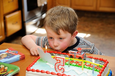 Dylan's Fifth Birthday