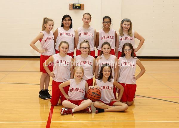 SNMS Girls Basketball 2017-2018
