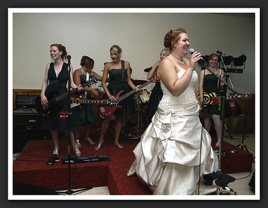 The Bride's New Rock Band