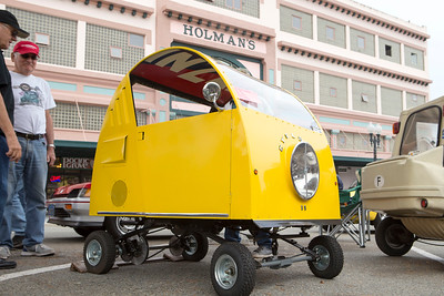 Little Car Show - Pacific Grove