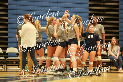 Volleyball vs Siegel 8/21/18