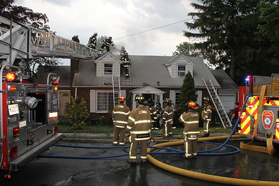 Leonia 2nd Alarm  Cumley Terrance Structure Fire