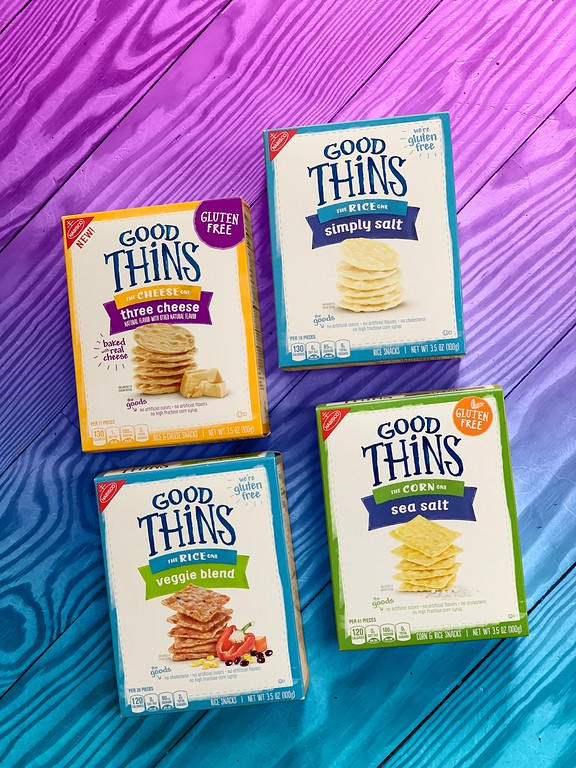 four flavors of GOOD THiNS