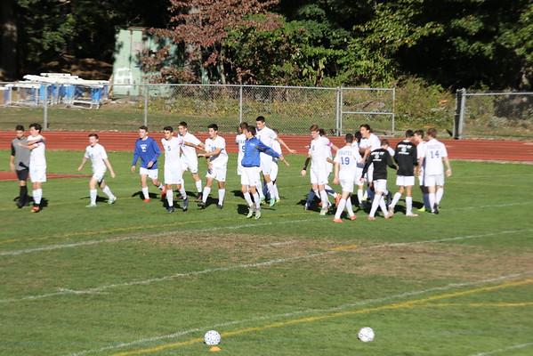 PR Varsity Soccer vs TZ 10-14-16 Senior Day