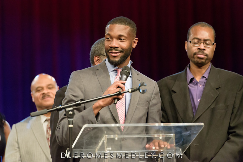 Mayor Woodfin Inauguration Prayer Service 11/17