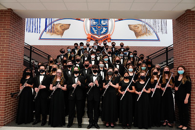 UIL Recording Day Ensemble Group Pictures, March 31, 2021