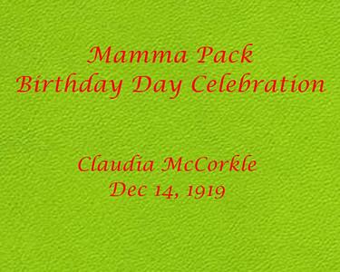 Momma Pack Birthday