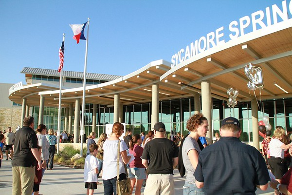 Sycamore Springs Dedication 2017