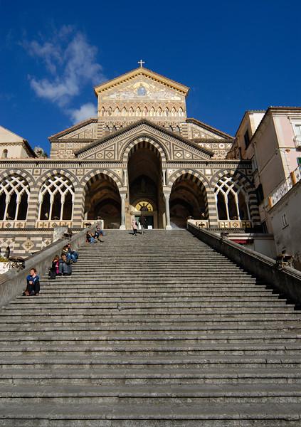 Cathedral of Amalfi (Duomo), Campania (Italy)