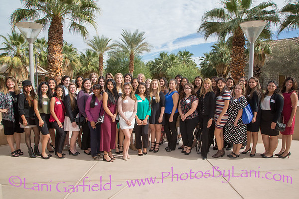 Women Leaders Forum Art & Etiquette with Mentors 11/5/17