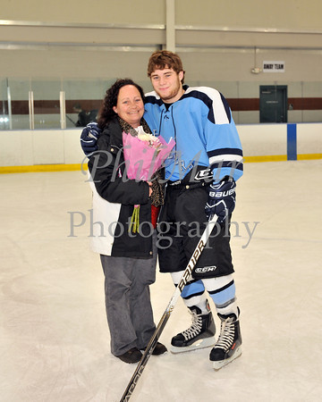 Governor Mifflin VS Daniel Boone Ice Hockey Senior Game 2011 - 2012