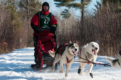 Apostle Islands Dog Sled Races 2012