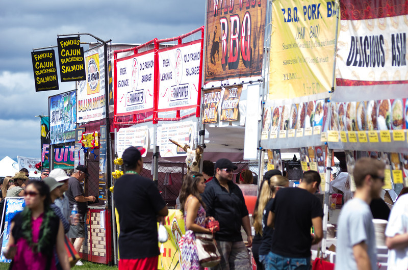 food booths