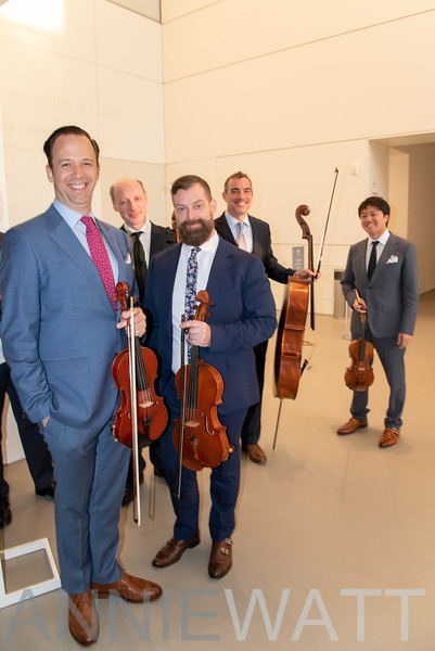 March 10, 2020  Miro Quartet  by the Chamber Music Society