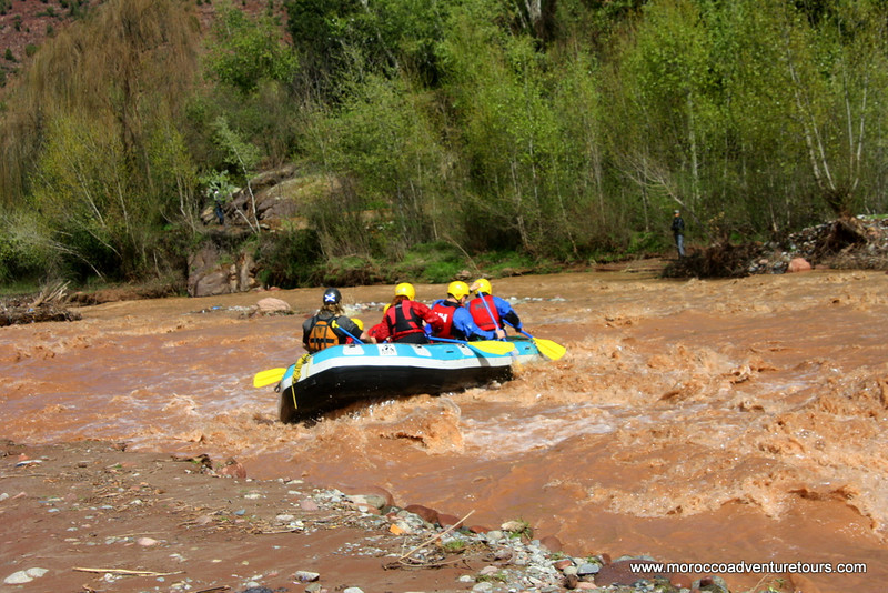 http://moroccoadventuretours.com White Water Rafting Adventure Morocco