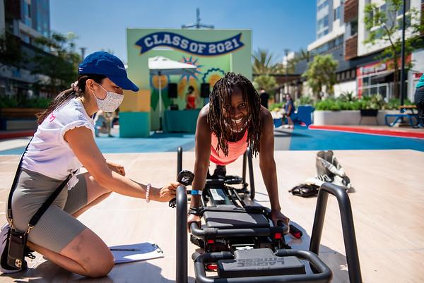 06.13.21 Fitness event at RUNWAY Playa Vista