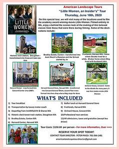 """""""Little Women"""" Insider's Tour - 18 Jun 2020"""
