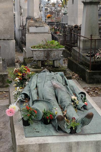 Père Lachaise Cemetery. Pas de commentaire.