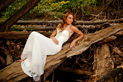 Courtney Trash the Dress