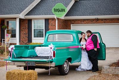 Christina & Roy | An At-Home Wedding in Fuquay Varina