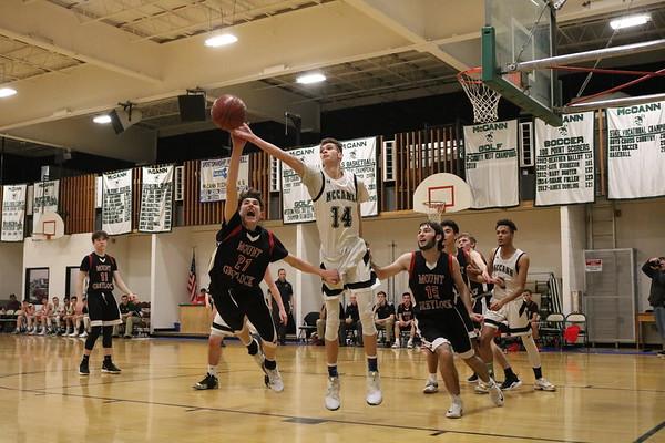 Mount Greylock at McCann Tech boys basketball - 021319