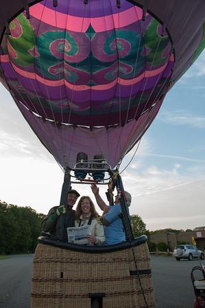 Taft's ballon ride