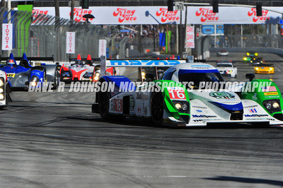 2011-04-15&16 Tequila Patron ALMS at Long Beach, CA, USA, Lap 1 MainStraight into Turn1