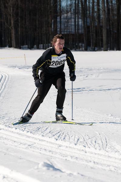 Evan Cover, 10K Freestyle Champion