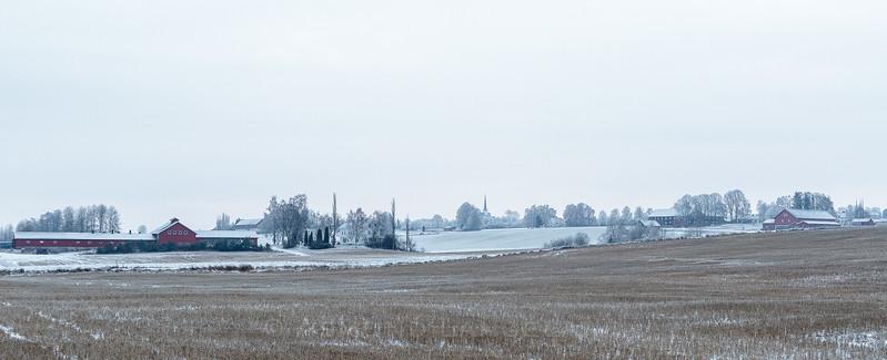 Frang gård og Hemstad gårdene