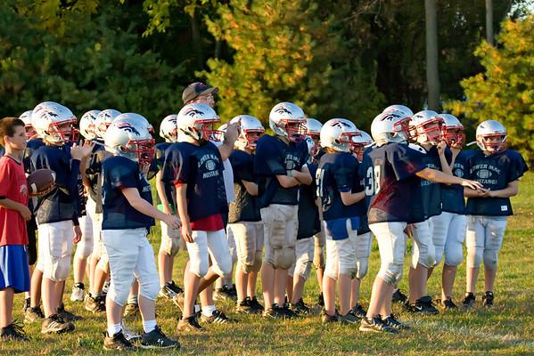15 Oct 08 115 Practice :: Coaches do Crab Crawls!