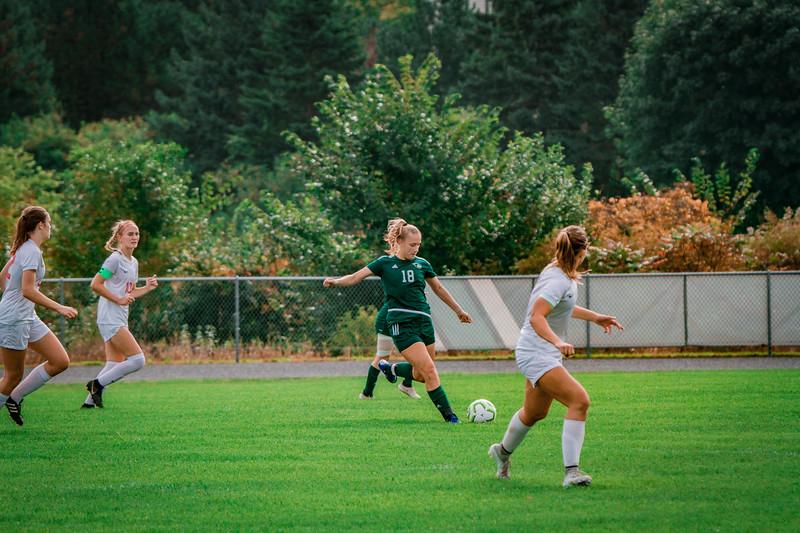 Holy Family Girls Varsity Soccer vs. Shakopee, 9/21/19: Maggie Rothstein '20 (18)