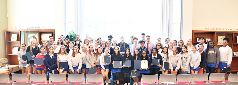 Induction Ceremony for Honor Societies in World Languages