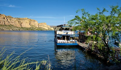 Desert Belle Cruise on Saguaro Lake, AZ . 4-5-19