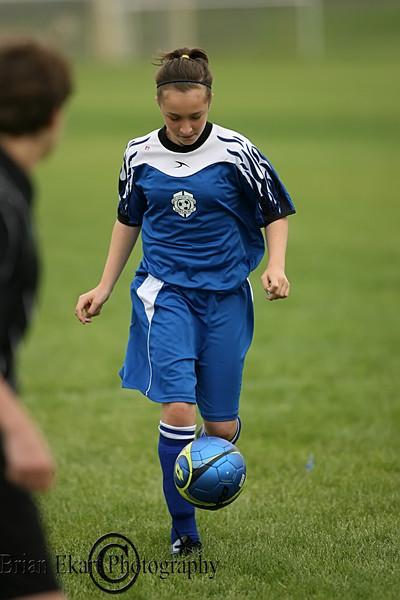 U11 Girls Soccer - SA vs  6.13.10