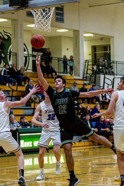 Holy Family Boys Varsity Basketball vs. Waconia - Collin Nawrocki/The Phoenix