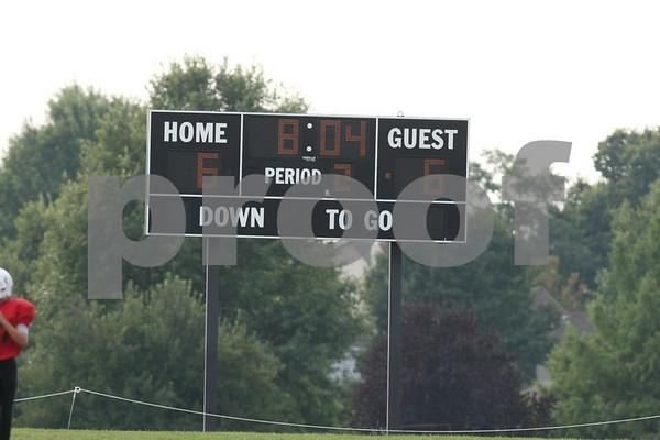 6th Grade-Odessa Bulldogs Red vs Grain Valley Eagles White 9-12-09 First Half Only