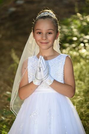 Lucy 1st communion