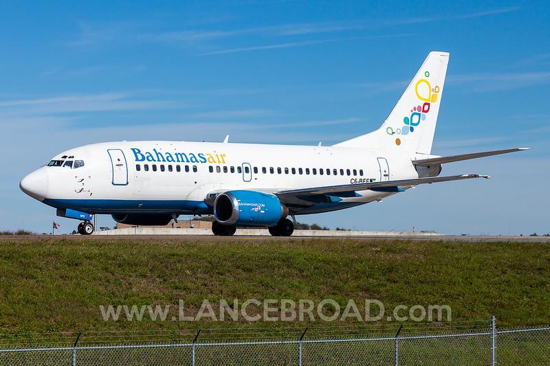 Bahamas Air 737-500 - C6-BFE - MCO