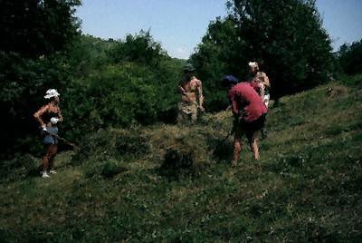 Bučková Jama 2002; digiart