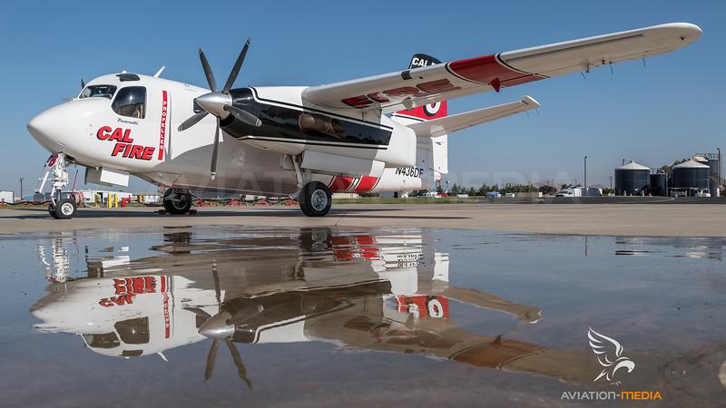 CAL Fire / Marsh Aviation S-2F3AT Turbo Tracker / N436DF