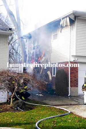01-05-17 WANTAGH FD House fire