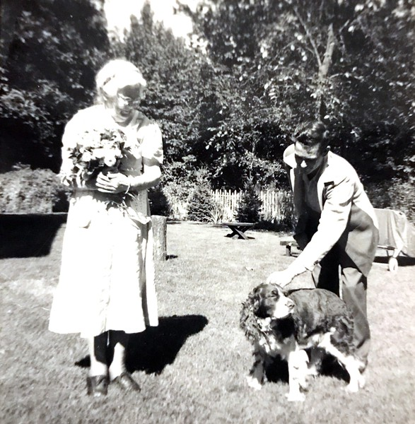 """On the back it said """"Mrs. Buford, friend of ours from Rosedale"""". Unknown man in photo"""