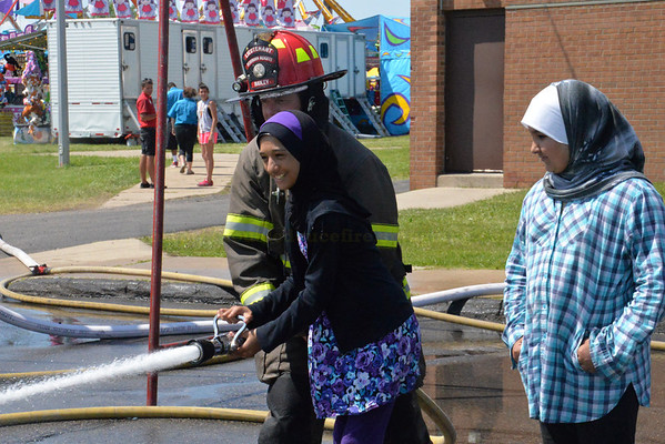 Dearborn Heights Firefighters at 2014Spirit Festival