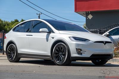 2020 Tesla Model X - Full Clear Bra PPF with CQFR Coating