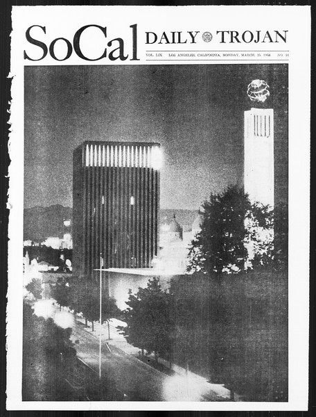 SoCal, Vol. 59, No. 97, March 25, 1968
