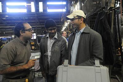 25777 Energy Assessment at Davis Lynch glass factory in Star City. With Bhaskaran Gopalakrishnan