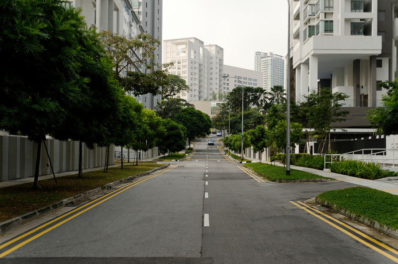 Irrawaddy Road leading up to Tan Tock Seng and Mt Elizabeth Novena Hospitals, Singapore
