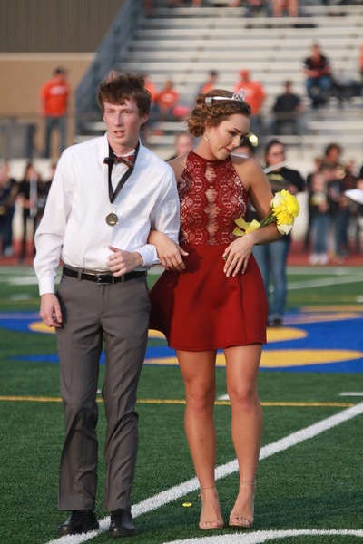 CHS Homecoming Crowning