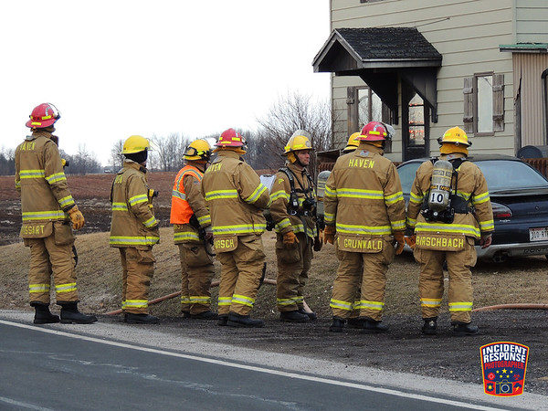 Electrical fire on March 22, 2014